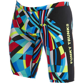 Funky Trunks Training Jammers Men block chain